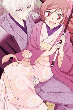 Tomoe & Nanami - Kamisama Kiss