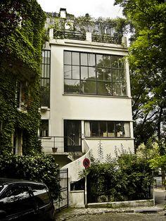 Maison Ozenfant. Paris, France. 1922. Le Corbusier