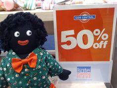 Free toy knitting patterns to download-golliwog