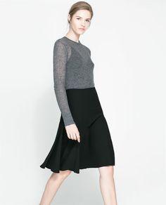Image 2 of FLARED SKIRT from Zara