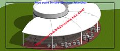 Food Covering Tensile Structure