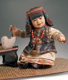 Adora International Doll: Bayarmaa Mongolia Vinyl Toddler Baby 2009