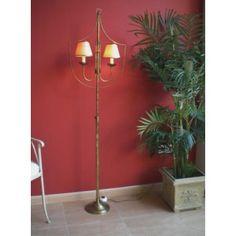 Lámpara de pie salón clásica Galiana #Ambar #Muebles #Deco #Interiorismo #Outlet | http://www.ambar-muebles.com/lampara-de-pie-salon-clasica-galiana.html