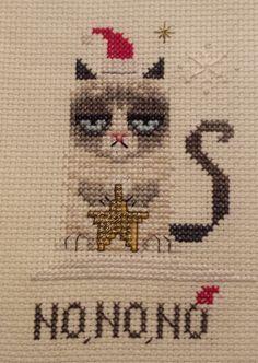 Grumpy snowcat