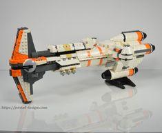 UCS Hammerhead Corvette, Rogue One by Jorstad Designs https://rebrickable.com/mocs/MOC-13059/Jorstad%20Designs/ucs-hammerhead-corvette-rogue-one/?utm_content=buffer92813&utm_medium=social&utm_source=pinterest.com&utm_campaign=buffer #lego #legostarwars