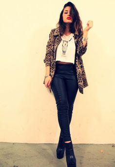 leopard print shirt
