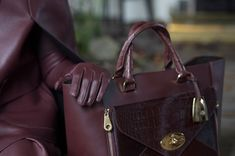 The Willow Tote, behind the scenes of the Mulberry Autumn Winter 2013 campaign shoot.