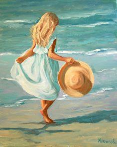 𝓡𝓸𝓫𝓲𝓷 — ❝ 𝓫𝓲𝓵𝓵𝓲𝓮 𝓮𝓲𝓵𝓲𝓼𝓱 ❞ ⋅︓︒︑∘∗✧∘︑︒⚬∙︓⋅⠄✯∘⠄✧⠄ like or. Watercolor Art, Art Painting, Beach Painting, Art Drawings, Oil Painting, Art Painting Acrylic, Art, Beach Art, Canvas Painting
