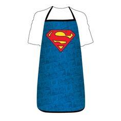 Superman Logo Apron £13.00 | Past Times #superhero #gifts