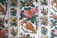 "Textils from Alcobaça - Chita de Alcobaça. Typical fabric patterns from Alcobaça, called ""chitas""."