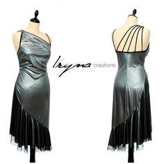 Belle robe de tango d'IRYNA Créations. Tango dress