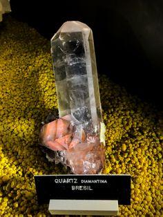 Encore un quartz magnifique de la région Diamantina au Brésil.