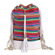 By  Danie  Bag, Peru Fringes (large)