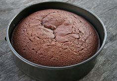 •To help ensure freshly baked cakes don't stick to the bottom of the cake pan, let the pan cool on a damp towel for a few minutes just after it comes out of the oven. Then loosen the sides and invert onto a platter; your cake should slide out easily.