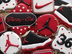 Nike Air Jordan Birthday Cookies   Cookie Connection