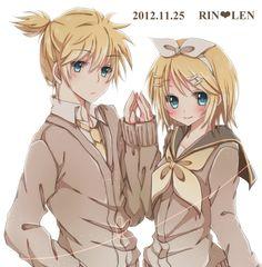 Rin and Len Kagamine