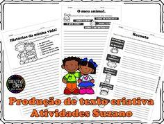 Produção de texto criativa - Atividades Adriana