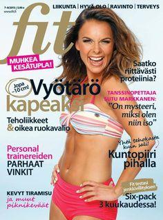 FIT 7-8/2013 Cover #fitlehti #kansi Photo Mika Pollari www.mikapollari.com