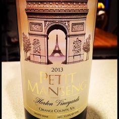 Nittany Epicurean: 2013 Horton Vineyards Petit Manseng