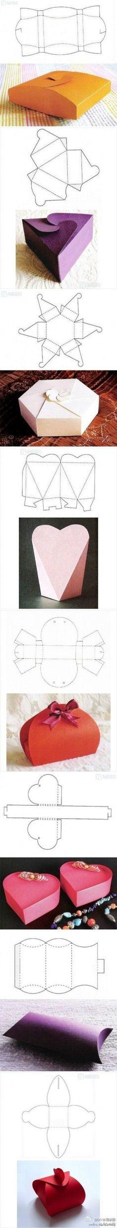 Sjieke kadootjes van karton