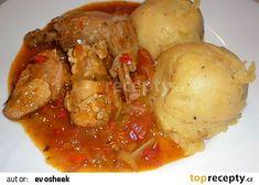 Králík s rajčatovou omáčkou - Conejo en salsa de tomate recept - TopRecepty.cz