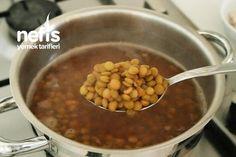 Erişteli Yeşil Mercimek Çorbası (videolu) - Nefis Yemek Tarifleri Chana Masala, Salsa, Beans, Vegetables, Ethnic Recipes, Food, Essen, Vegetable Recipes, Salsa Music
