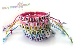 Custom Personalized Best Friends Forever Bracelets
