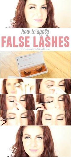 Every girl needs to know how to apply falsies! Check out this tutorial on how to apply a strip of lashes and where to find the best quality, most natural lashes!