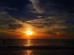 One of the prettiest sunsets in Florida. Clearwater beach.