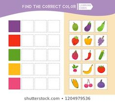 Autism Learning, Learning Cards, Preschool Learning Activities, Free Preschool, Preschool Worksheets, Preschool Activities, Kids Learning, Cutting Activities For Kids, Activity Sheets For Kids