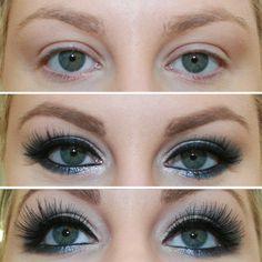 THE POWER OF MAKEUP | Eyes | Eye Makeup | Lashes | Zaylia Cosmetics eyeshadow | Red  Cherry lashes