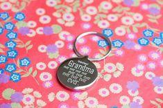 Personalised Keyring - Bestest Grandma Ever Personalized Gifts For Grandparents, Personalised Gifts, Personalized Items, Ever And Ever, Personalized Gifts