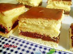 Prăjitura Smântânița Sweets Recipes, Cake Recipes, Cooking Recipes, Hungarian Cake, Romanian Food, Romanian Recipes, Healthy Cookies, Food Cakes, Pinterest Recipes