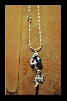 """""""INVERNO"""" Ciondolo in Argento e Swarovski #FilippoVieri #jewelry #winter #handmade"""