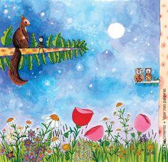 Beijos de Algodão: A Abelha e a Flor #5