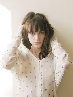 프랑스,영국 배우이자 모델 스테이시 마틴(Stacy Martin)