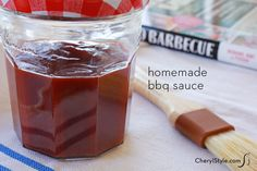 Our super simple tangy BBQ sauce recipe is so tasty, you'll never buy pre-made sauce again.