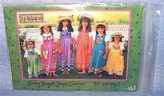 Kids Jumper Purse Pocket Dress Pattern Sizes 3 mo - 14 Girls k.p. kids fabric #kpkidsCo