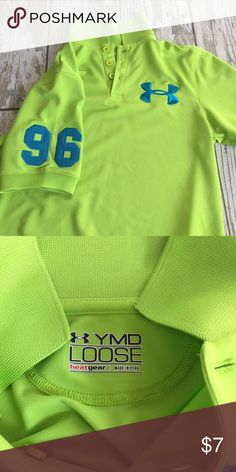 Youth Med Under Armour shirt Worn once! Under Armour Shirts & Tops Polos