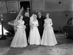 Bridal Party in 1955