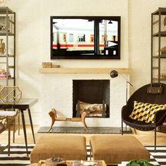 Decorator Nate Berkus Reinvents His Manhattan Duplex : Architectural Digest Duplex Apartment, Manhattan Apartment, Nate Berkus, Architectural Digest, Kelly Wearstler, Faux Bamboo, Celebrity Houses, Funny Design, Architecture Design