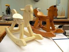 free images of horses to make out of wood | rocking-horse-unfinishedstevenwoodnetsm