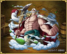 Edward Newgate, Rival of the Pirate King Anime Echii, Anime Comics, Anime Art, One Piece Anime, Barba Branca One Piece, Edward Newgate, One Piece Tattoos, One Piece Wallpaper Iphone, Pirate Games
