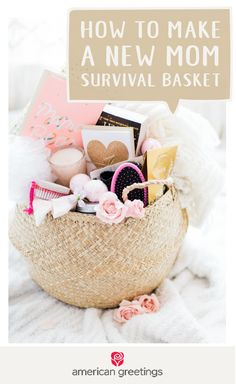 Complete with a cozy blanket, a sweet smelling candle, pampering products, a thoughtful greeting card from Target, and other essentials, this New Mom Survival Basket can make your friend feel so special during this exciting and tiring time. Learn how you can make this personal and useful gift idea for the new parents in your life.
