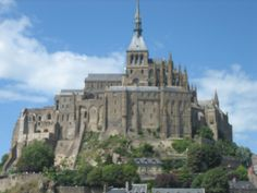 The mystical Mont St Michel, Normandy France.