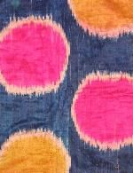 Silk Ikat woman's robe. Md C 19 - David Sorgato