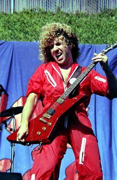 Philip Anderson Photography: Sammy Hagar - - Day On The Green Oakland Coliseum, Red Rocker, Bill Graham, Sammy Hagar, Green Photo, Live Rock, Aerosmith, Green Day, Rock Stars