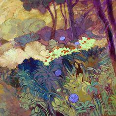chasingtailfeathers:    Karin Daymond  Elise's Garden