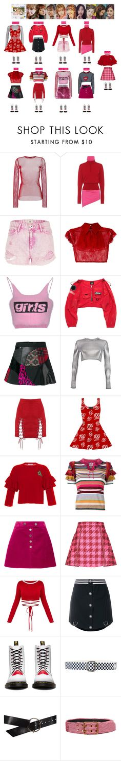 """""""TWICE - LIKEY❤️"""" by vvvan99 ❤ liked on Polyvore featuring G.V.G.V., J.W. Anderson, River Island, N°21, Alexander Wang, Junya Watanabe Comme des Garçons, Boohoo, VIVETTA, Gucci and Courrèges"""