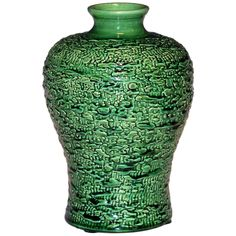 Awaji Pottery Vase - Meiping Textured Surface Japanese Arts And Crafts Pottery Pottery Vase, Ceramic Pottery, Decorative Objects, Decorative Accessories, Rustic Table Lamps, Pottery Workshop, Arts And Crafts Furniture, Vases For Sale, Ethnic Chic
